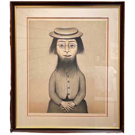 Bearded Lady Painting